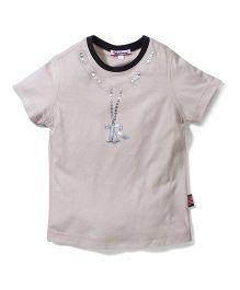 Trombone Trendy T-Shirt - Beige