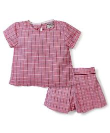 Kiddy Mall Shorts & Top Set - Pink