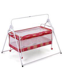 New Natraj Sleep Well Baby Cradle Fruit Print 031 - Red