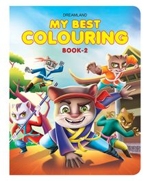 My Best Colouring Book - 2