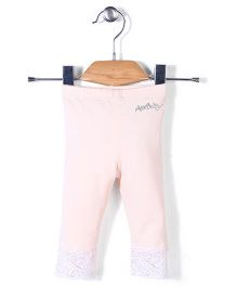 AZ Baby Stylish Leggings - Light Peach