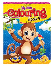 My New Colouring Book 1