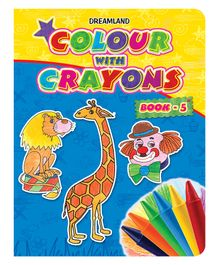 Colour With Crayons Book Part 5 - English