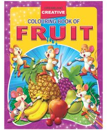 Creative Colouring Book - Fruits