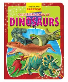 Creative Colouring Book Dinosaurs - English