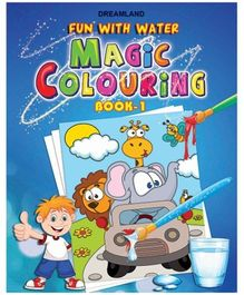 Magic Colouring Book 1 - English