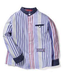 Kidsplanet Striped Shirt - Purple