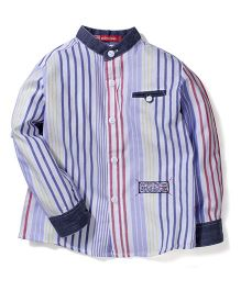 Kidsplanet Striped Shirt - Purple