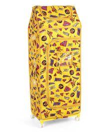Toyzone Superman Toy Box Almirah - Yellow