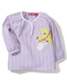 Kidsplanet Stripe Print Top - Pink