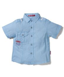 Kidsplanet Cycyle Print Shirt - Blue