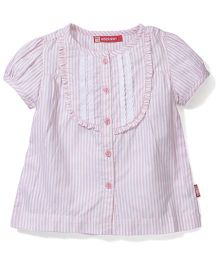 Kids Planet Striped Shirt - Baby Pink