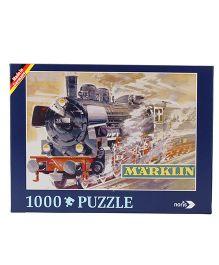 Simba Marklin Nostalgia Train Puzzle - 1000 Pieces