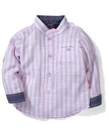 Kidsplanet Stripe Print Shirt - Light Pink