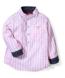 Kidsplanet Stripe Print Shirt - Pink