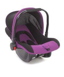 Rear Facing Car Seat Cum Carry Cot - Dark Purple