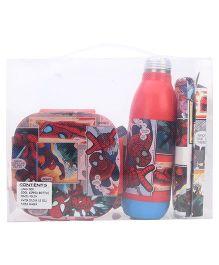 Marvel Spider Man School Kit Set of 5 - Red
