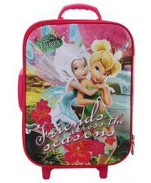 Disney Fairies Trolley Bag Pink - 18 inches