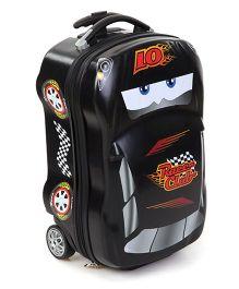 Disney Pixar Cars Hard Trolley Bag Black - 18 inches