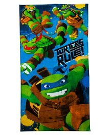 Ninja Turtle Bath Towel - Multi Color