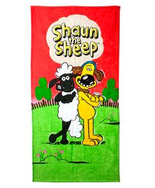 Shaun The Sheep Bath Towel - Multi Color
