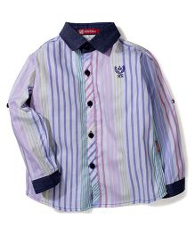 Kidsplanet Stripe Print Shirt - Multicolour
