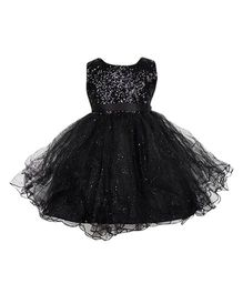 Party Princess Sequence And Glitter - Black