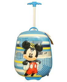Disney Mickey Mouse 3 D Design Trolley Bag Multicolor - 16 Inches