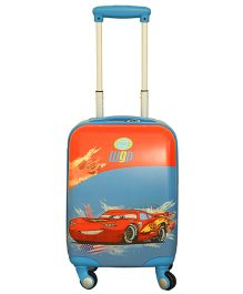 Disney The Car Ygp Trolley Bag Red And Blue - 18 Inches
