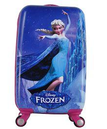Disney Frozen Trolley Bag Blue - 20 Inches
