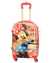 Disney Minnie Club House Trolley Bag Multicolor - 20 Inches