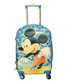 Disney Mickey Mouse Trolley Bag - Blue