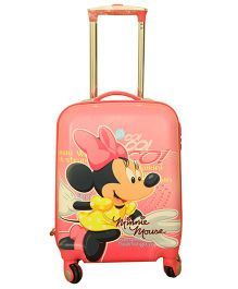 Disney Minnie Mouse Trolley Bag Peach - 18 Inches