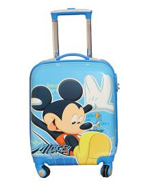 Disney Mickey Mouse Trolley Bag - Aqua