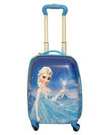 Disney Frozen Magic Trollley Bag Blue - 16 Inches