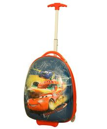 Disney Pixar Cars Oval Trolley Bag Multicolor - 16 Inches