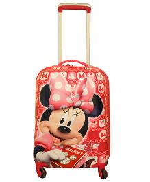 Disney Minnie With Passport Trolley Bag Red - 18 Inches