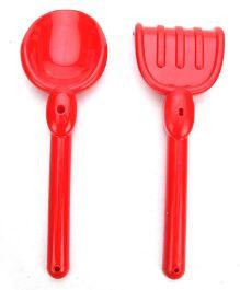 Ecoiffier Beach Box Beach Toy Set - Red