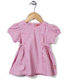 Kidsplanet Stripe Print Frock - Pink