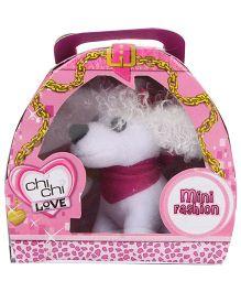 Simba Chi Chi Love Mini Fashion Dog Toy White - 7 CM