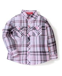 Kidsplanet Checkered Shirt - Pink