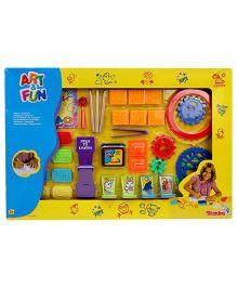 Simba Art And Fun Stamps And Drawing Set