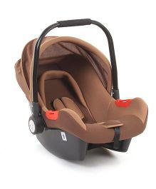 Rear Facing Car Seat Cum Carry Cot - Coffee Brown