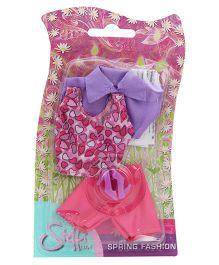 Simba Steffi Love Spring Fashion Doll Dress - Purple And Pink