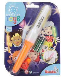 Simba World Of Toys Magic Flashlight Orange - 19 cm