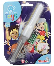 Simba World Of Toys Magic Flashlight Grey - 19 cm
