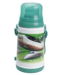 Water Bottle Bullet Train Print Green - Water Bottle Bullet Train Print Red - 450 ml