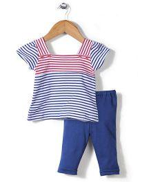 Childhood Leggings & Top Set - Blue