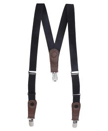 Hallo Heidi Suspender Belt - Black