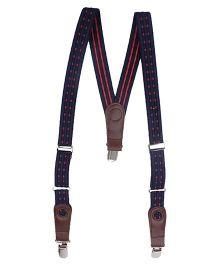 Hallo Heidi Suspender Belt - Blue